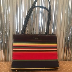 💕♠️ Kate Spade striped handbag ♠️💕